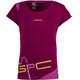 La Sportiva Shortener Shortsleeve Shirt Women purple